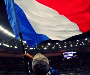 fans, football, and passion image
