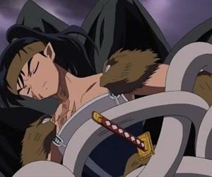 anime, inuyasha, and koga image