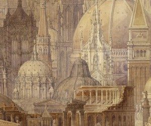 architecture, cathedral, and c.r. cockerell image