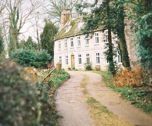 house, nature, and vintage image