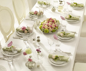 styling, table setting, and table image