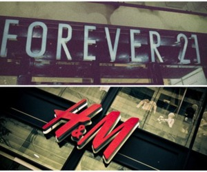 fashion, H&M, and forever 21 image