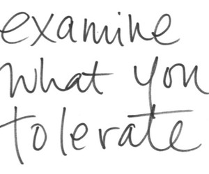 quote, examine, and tolerate image
