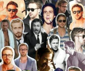 Collage, Hot, and ryan gosling image