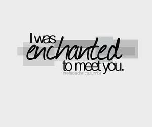 enchanted, music, and song image