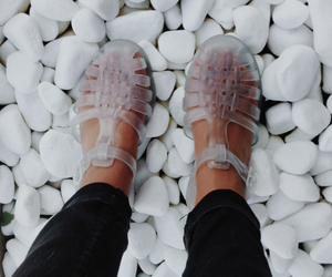 shoes, fashion, and jellies image