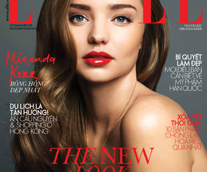 cover, magazine, and Elle image