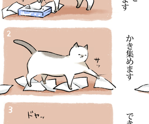 cat, japanese, and kitty image