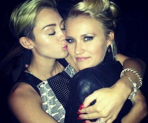 bffs, emily osmet, and miley cyrus image