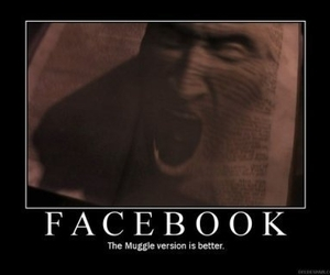 book, animal, and facebook image