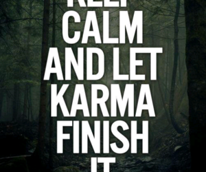 quote and karma image