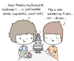 larry, cute, and love image