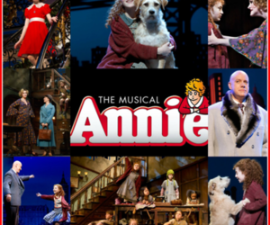 annie, broadway, and musical image
