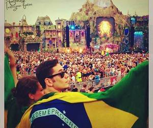 Tomorrowland, brazil, and party image