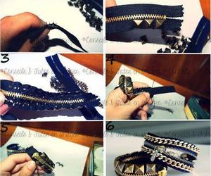 bracelets, diy, and studs image
