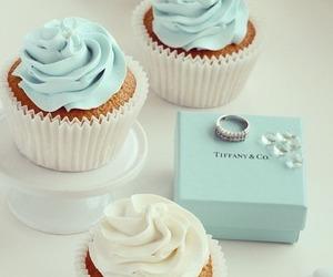 cupcake, tiffany, and food image