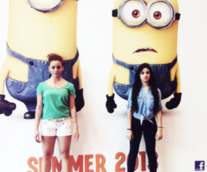 dinah jane, fifth harmony, and minions image