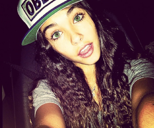 curly, obey, and madison beer image