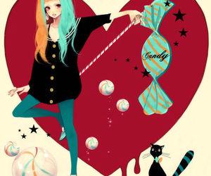 manga, candy, and mokaffe image