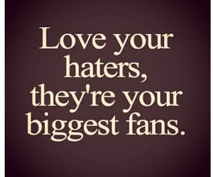 fan and haters image