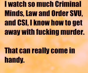 criminal minds, csi, and death image