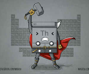 periodic table, avenger, and chemistry image