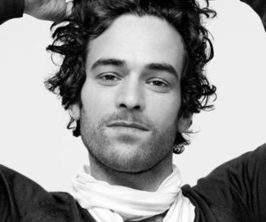 black and white, french, and guy image