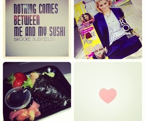 sushi, weheartit, and instagram image