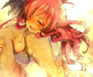 anime, comfort, and couple image
