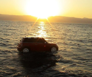 atardecer, beach, and cooper image