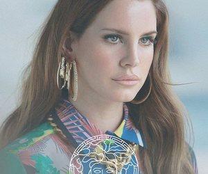 lana del rey and Versace image