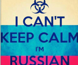 russia and keep calm image