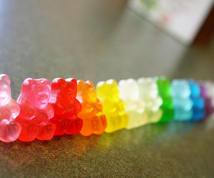 food, sweet, and gummy bears image