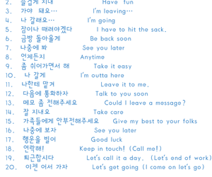korean, phrases, and words image