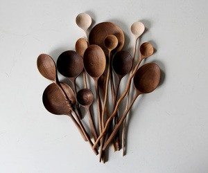 design, hand-made, and spoons image