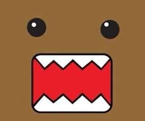 domo, wallpaper, and brown image