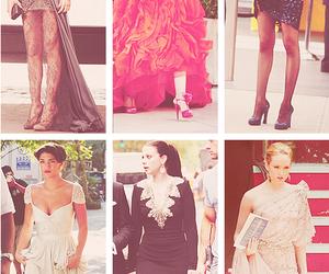 gossip girl, dress, and fashion image