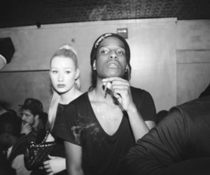 iggy azalea, asap rocky, and asap image