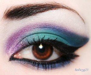 blue, brown eyes, and eye image