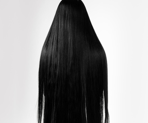 hair and scary image