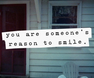 smile, quote, and reason image