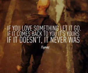 tupac, love, and quote image