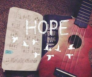 hope, guitar, and music image
