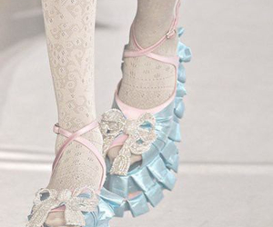 fashion, shoes, and pastel image