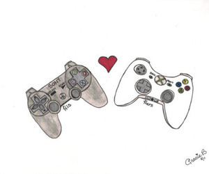 love, game, and playstation image