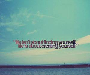 life, quote, and yourself image