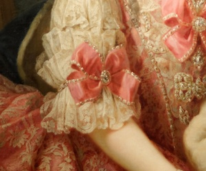 pink, dress, and lace image