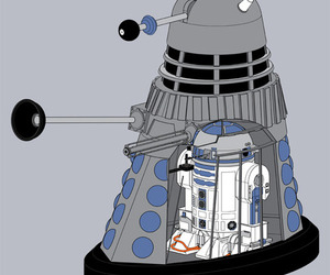 Dalek, doctor, and doctor who image