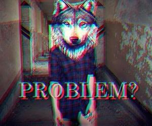 wolf, problem, and 3d image