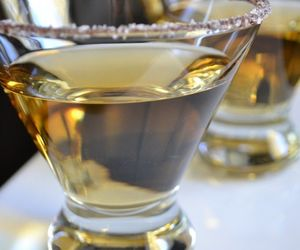 chocolate, martinis, and covered image
